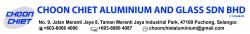 Choon Chiet Aluminium & Glass Sdn Bhd