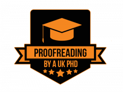 Proofreading by A UK PhD