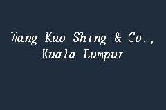 Wang Kuo Shing & Co
